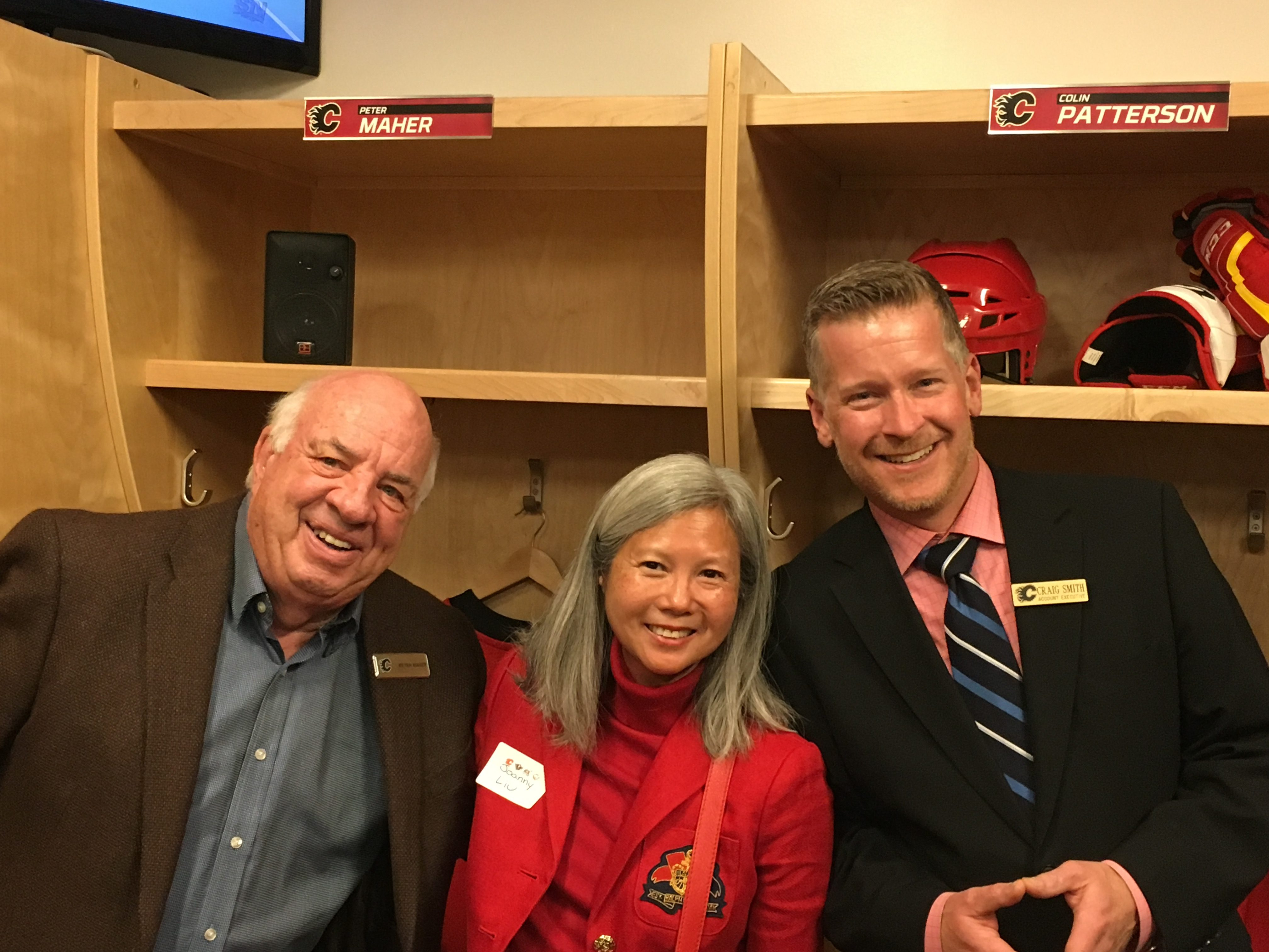 Peter Maher, Colin Patterson, Calgary Flames